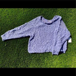 Free People Chunky Knit Sweater Sz XL